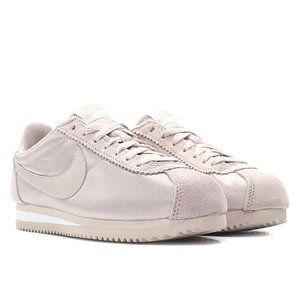 NWT Nike Women Cortez Sneakers Rose Pink Nylon